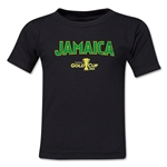 Jamaica CONCACAF Gold Cup 2015 Big Logo Toddler T-Shirt (Red)