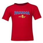 Panama CONCACAF Gold Cup 2015 Big Logo Toddler T-Shirt (Red)