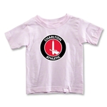 Charlton Athletic Crest Toddler T-Shirt (Pink)