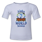 Aloha World Sevens Toddler T-Shirt (White)