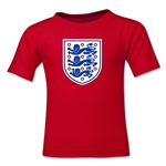 England Core Toddler T-Shirt (Red)