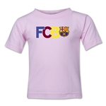 Barcelona Big Letter Toddler T-Shirt (Pink)