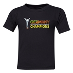 Germany FIFA U-20 Women's World Cup Canada 2014 Champions Toddler T-Shirt (Black)