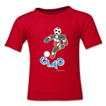 1990 FIFA World Cup Ciao Mascot Toddler T-Shirt (Red)