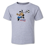 1994 FIFA World Cup Striker Mascot Toddler T-Shirt (Gray)