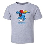 1998 FIFA World Cup Footix Mascot Toddler T-Shirt (Gray)