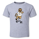 2006 FIFA World Cup Goleo VI Mascot Toddler T-Shirt (Gray)