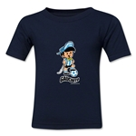 1978 FIFA World Cup Guachito Mascot Logo Toddler T-Shirt (Navy)