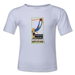 1930 FIFA World Cup Emblem Toddler T-Shirt (White)