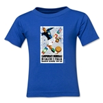 1934 FIFA World Cup Emblem Toddler T-Shirt (Royal)