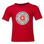 1954 FIFA World Cup Emblem Toddler T-Shirt (Red)