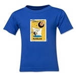 1958 FIFA World Cup Emblem Toddler T-Shirt (Royal)
