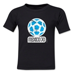 1970 FIFA World Cup Emblem Toddler T-Shirt (Black)
