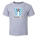 1978 FIFA World Cup Emblem Toddler T-Shirt (Grey)