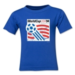 1994 FIFA World Cup Emblem Toddler T-Shirt (Royal)