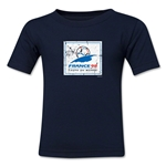 1998 FIFA World Cup Emblem Toddler T-Shirt (Navy)
