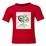 2006 FIFA World Cup Emblem Toddler T-Shirt (Red)