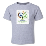 2006 FIFA World Cup Emblem Toddler T-Shirt (Grey)