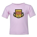 Ft. Lauderdale Strikers Toddler T-Shirt (Pink)