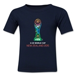 FIFA U-20 World Cup New Zealand 2015 Emblem Toddler T-Shirt (Navy)