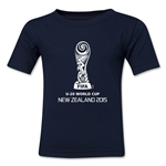 FIFA U-20 World Cup New Zealand 2015 Emblem 2 Toddler T-Shirt (Navy)