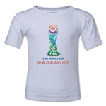 FIFA U-20 World Cup New Zealand 2015 Emblem Toddler T-Shirt (White)