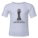 FIFA U-20 World Cup New Zealand 2015 Emblem 2 Toddler T-Shirt (White)