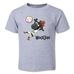 FIFA U-20 World Cup New Zealand 2015 Mascot 2 Toddler T-Shirt (Grey)