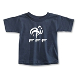 France FFF Toddler T-Shirt (Navy)