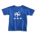 France FFF Toddler T-Shirt (Royal)