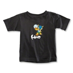 2014 FIFA World Cup Brazil(TM) Toddler Mascot T-Shirt (Black)