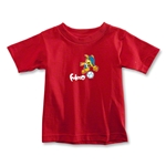 2014 FIFA World Cup Brazil(TM) Toddler Mascot T-Shirt (Red)