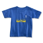2014 FIFA World Cup Brazil(TM) Toddler All In One Rhythm T-Shirt (Royal)