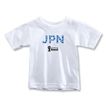 Japan 2014 FIFA World Cup Brazil(TM) Toddler Elements T-Shirt (White)