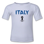 Italy 2014 FIFA World Cup Brazil(TM) Toddler Core T-Shirt (White)