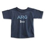 Argentina 2014 FIFA World Cup Brazil(TM) Toddler Elements T-Shirt (Navy)