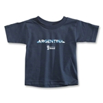 Argentina 2014 FIFA World Cup Brazil(TM) Toddler Palm T-Shirt (Navy)
