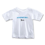 Argentina 2014 FIFA World Cup Brazil(TM) Toddler Palm T-Shirt (White)