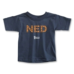 Netherlands 2014 FIFA World Cup Brazil(TM) Toddler Elements T-Shirt (Navy)