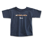 Netherlands 2014 FIFA World Cup Brazil(TM) Toddler Palm T-Shirt (Navy)