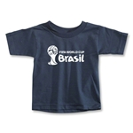 2014 FIFA World Cup Brazil(TM) Toddler Landscape T-Shirt (Navy)