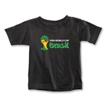 2014 FIFA World Cup Brazil(TM) Toddler Landscape Emblem T-Shirt (Black)