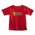 2014 FIFA World Cup Brazil(TM) Toddler Landscape Emblem T-Shirt (Red)