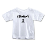 Germany 2014 FIFA World Cup Brazil(TM) Toddler Core T-Shirt (White)