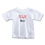 Switzerland 2014 FIFA World Cup Brazil(TM) Toddler Elements T-Shirt (White)