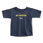 Ecuador 2014 FIFA World Cup Brazil(TM) Toddler Palm T-Shirt (Navy)