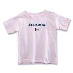 Ecuador 2014 FIFA World Cup Brazil(TM) Toddler Palm T-Shirt (Pink)