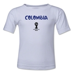 Colombia 2014 FIFA World Cup Brazil(TM) Toddler Core T-Shirt (White)