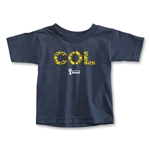 Colombia 2014 FIFA World Cup Brazil(TM) Toddler Elements T-Shirt (Navy)