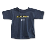 Colombia 2014 FIFA World Cup Brazil(TM) Toddler Palm T-Shirt (Navy)